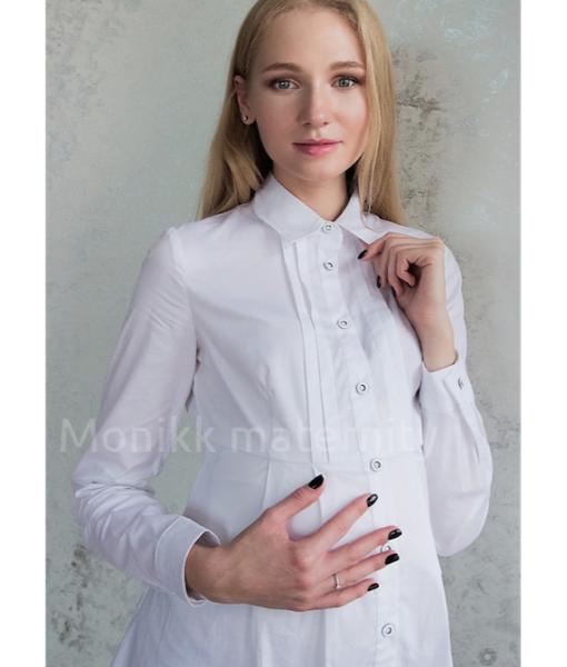 Белая Блуза для беременных