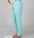 Голубая пижама для беременных и кормящих мам Relax -4