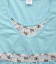 Голубая сорочная для беременных и кормящих мам Sela — 3