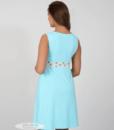 Голубая сорочная для беременных и кормящих мам Sela — 5