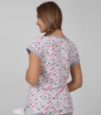 Розовая пижама для беременных и кормящих мам Relax -6