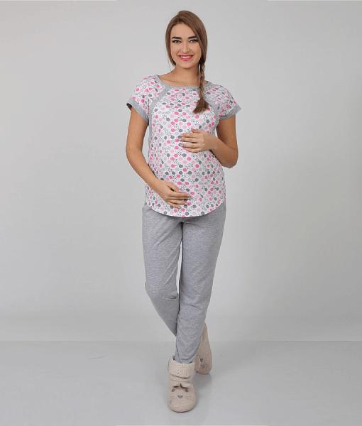 Серая-пижама-для-беременных-и-кормящих-мам-Relax--1
