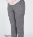 Серые брюки для беременных Brioni — 5