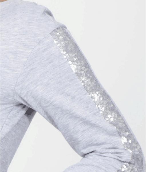 Серый свитшот для беременных и кормящих мам Gigi bright - 3