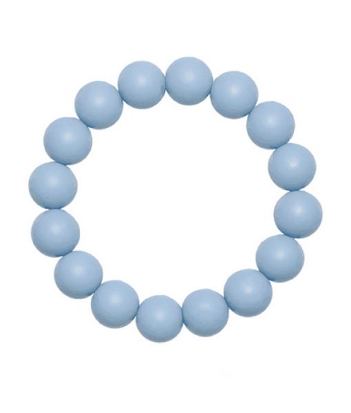 Силиконовый браслет-прорезыватель Esta дымчато-голубой