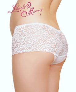 Белые трусики для беременных и кормящих мам Diana-2