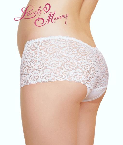 Белые трусики для беременных и кормящих мам Diana