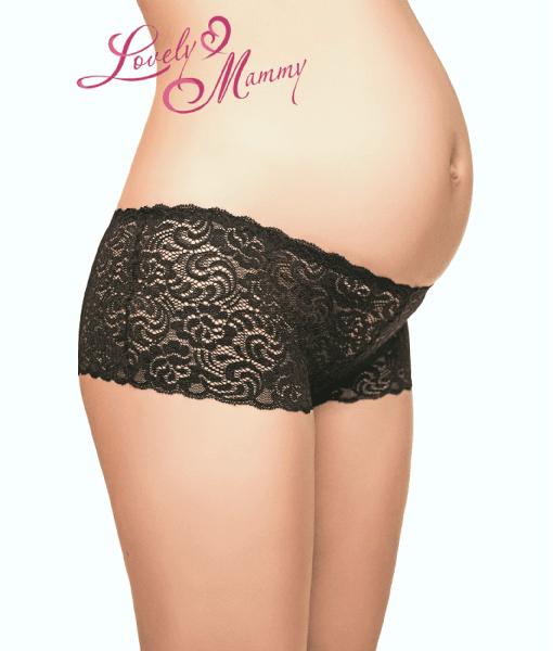 Чёрные трусики для беременных и кормящих мам Diana