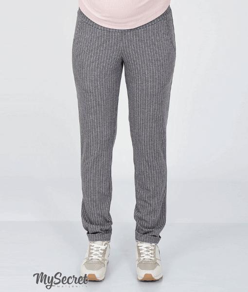 Серые брюки для беременных Brioni - 3