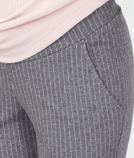 Серые брюки для беременных Brioni - 4