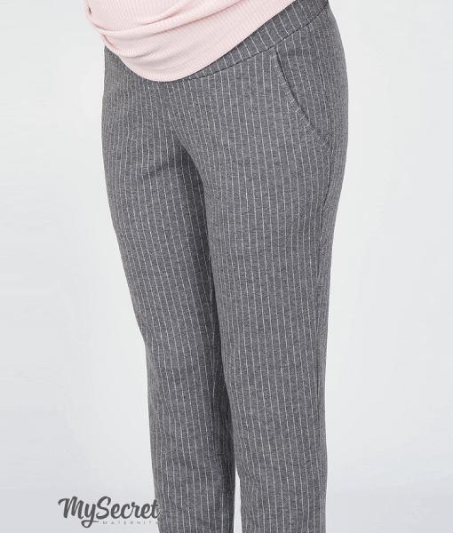 Серые брюки для беременных Brioni - 5