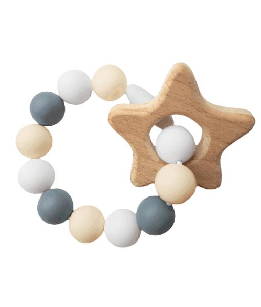Силиконовый браслет-прорезыватель-с-деревом-new-beige-1