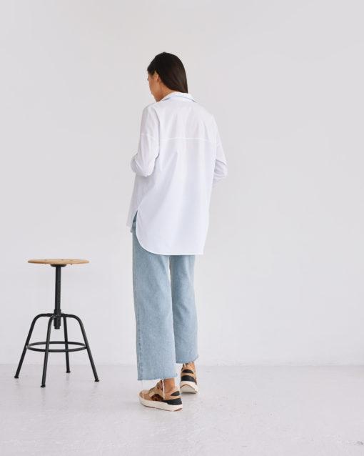 Белая рубашка для беременных Florance