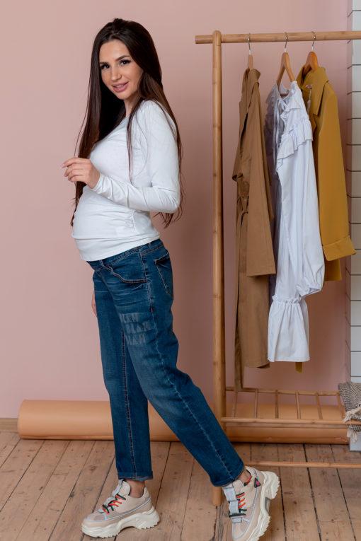 Джинсы-бойфренды для беременных и кормящих мам Maison