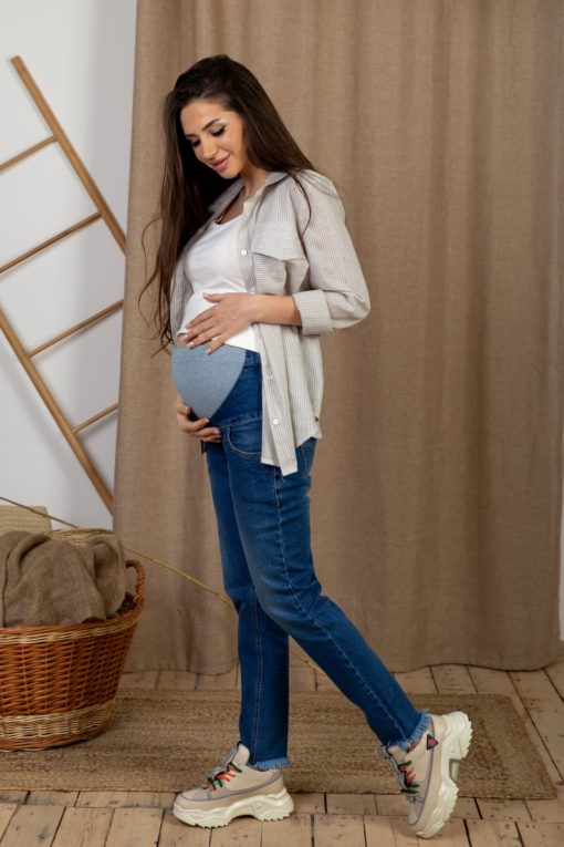 Джинсы moms для беременных Ingrid