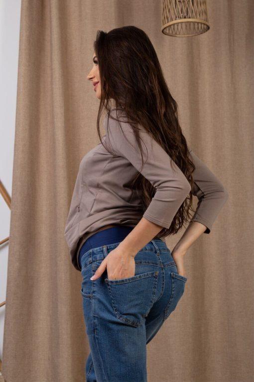 Джинсы-бойфренды для беременных и кормящих мам Venice
