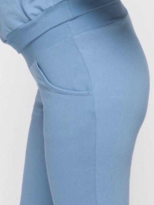 Голубой костюм для беременных и кормящих мам Rumi