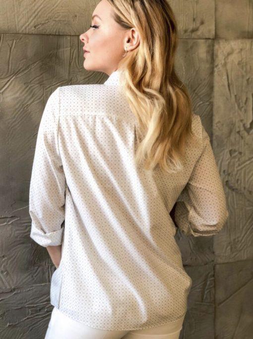 Молочная рубашка для беременных и кормящих мам Annalisa