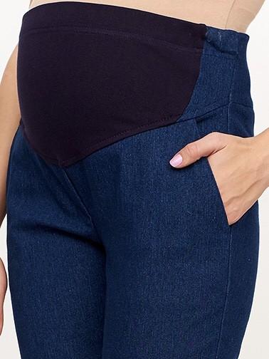 Джинсовые брюки для будущих и кормящих мам Defance