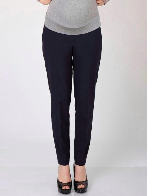 Синие утепленные брюки для беременных Elegance