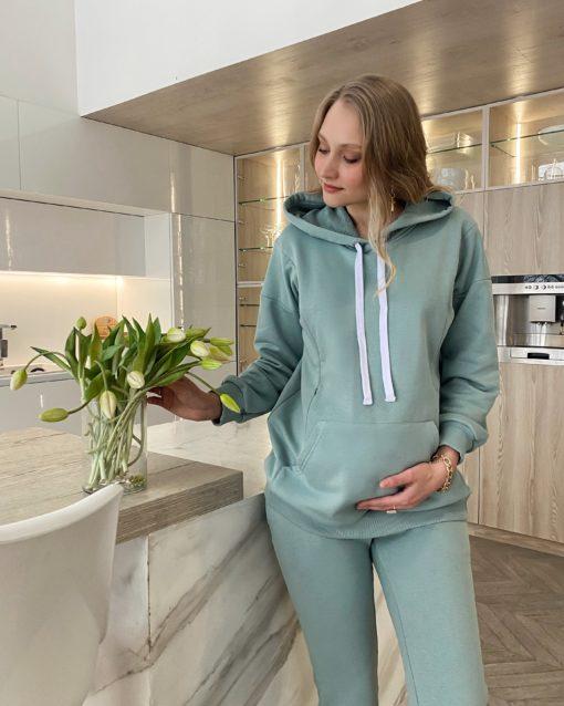 Мятные брюки для будущих и кормящих мам Kendal