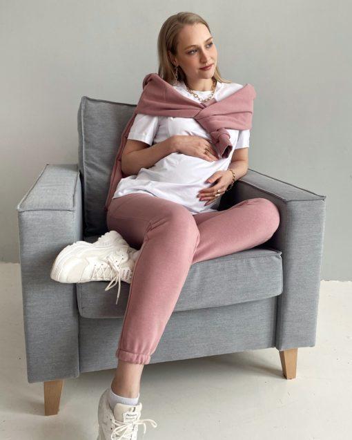 Пудровые брюки для будущих и кормящих мам Kendal