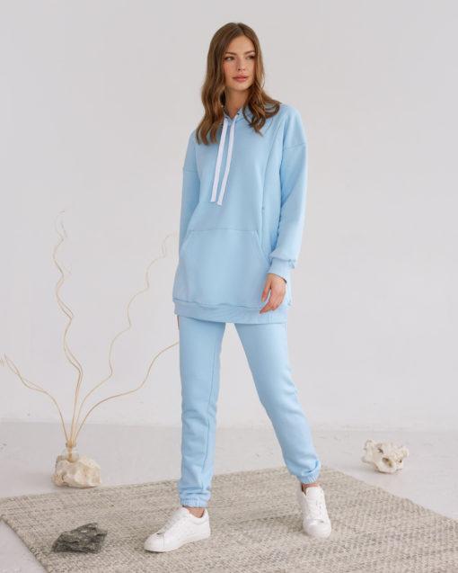 Голубые брюки для будущих и кормящих мам Kendal