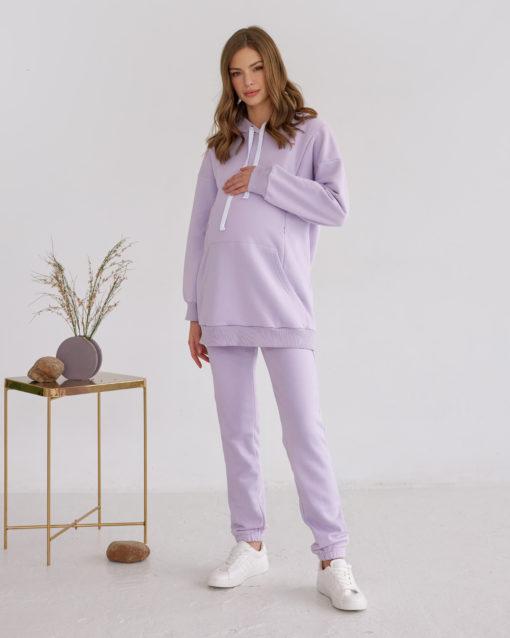Лавандовые брюки для будущих и кормящих мам Kendal