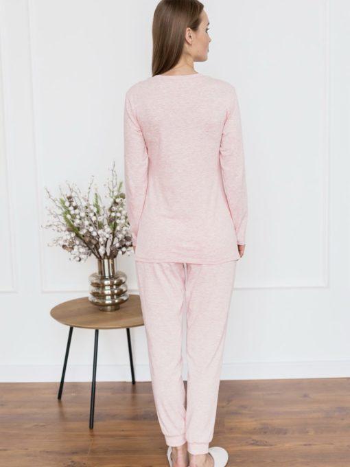 Розовая пижама для будущих и кормящих мам Milena