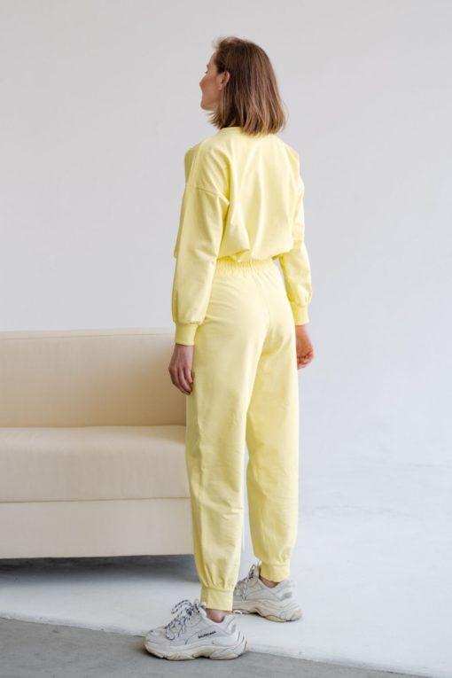 Лимонный костюм для кормящих мам Fresh