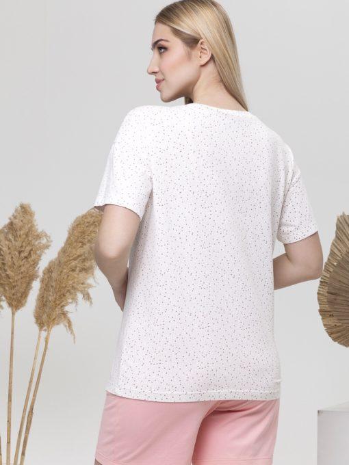 Розовая пижама для будущих и кормящих мам Janice