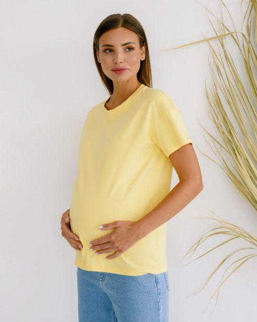 Банановая футболка для беременных Bintan