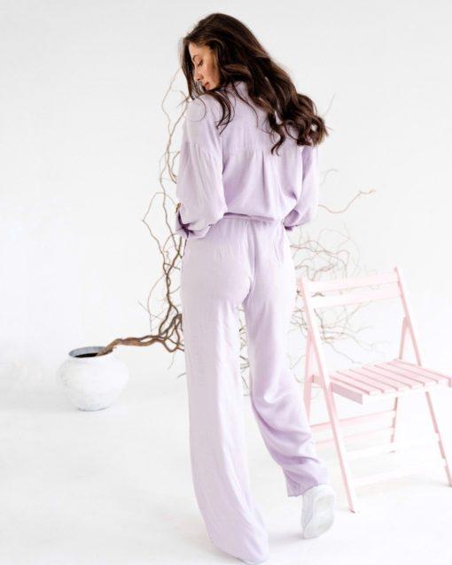 Лавандовый костюм для будущих и кормящих мам Breeze