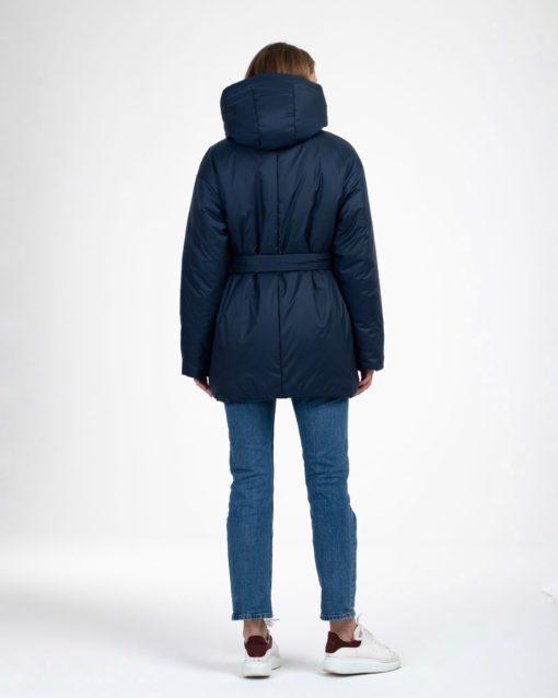 Темно-синяя куртка-трансформер для будущих и кормящих мам Joysi